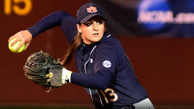 Auburn third baseman Kasey Cooper named 2016 Southeastern Conference Player of the Year.