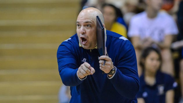 MTSU hired Chuck Crawford as its next head volleyball coach on Tuesday.