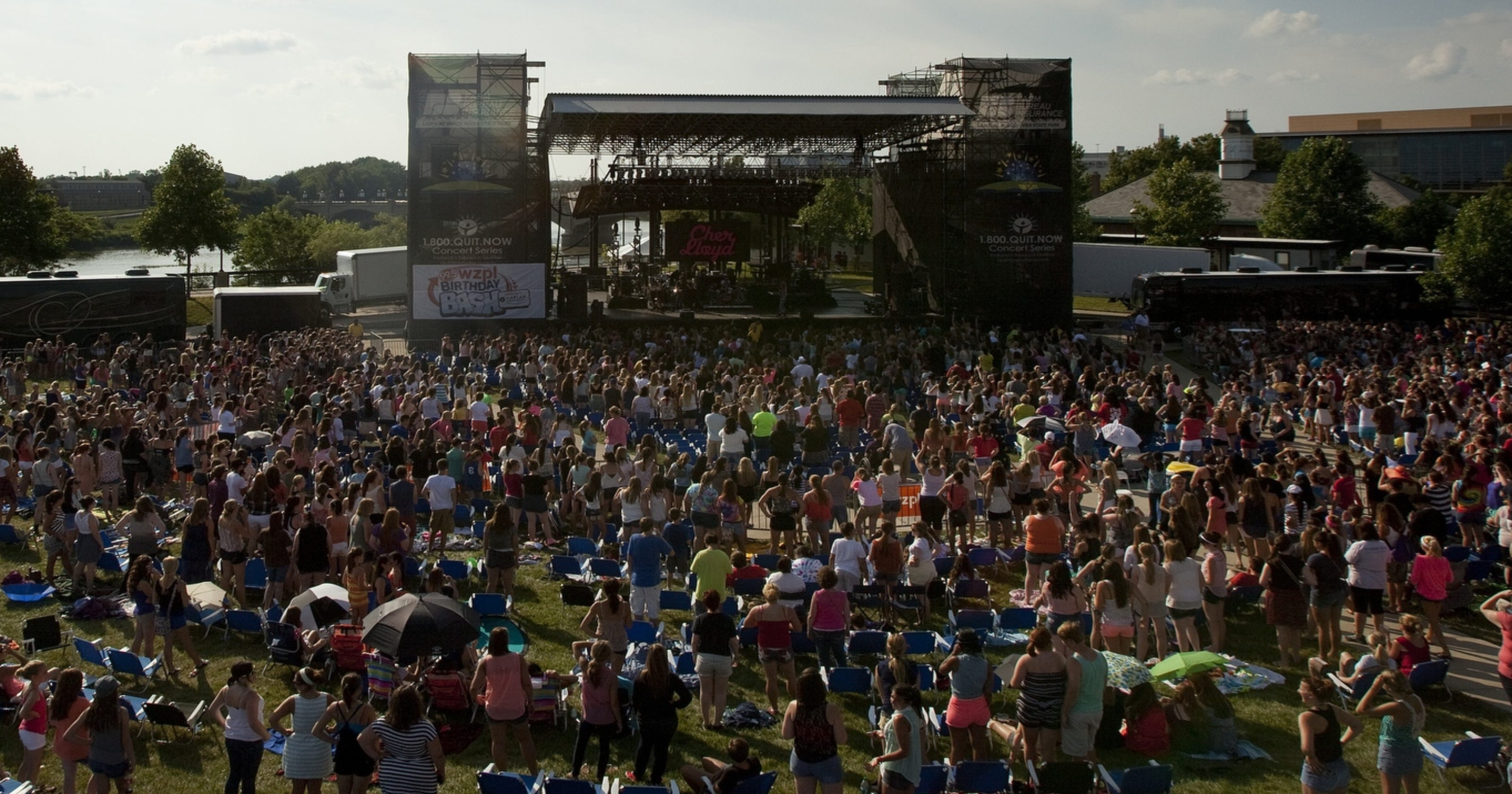 White River State Park Eyes Permanent Concert Venue