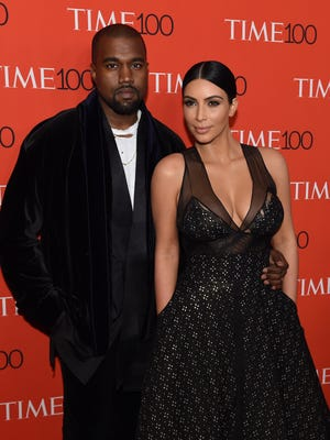 Kim Kardashian and Kanye West welcomed their new son Saturday morning.