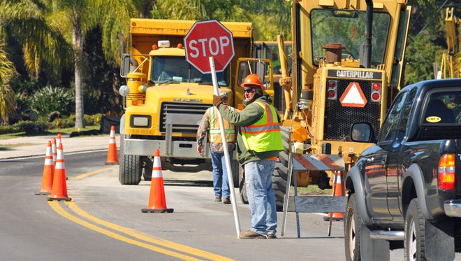 About 55 miles of Brevard roads need to be resurfaced each year to keep a 20-year maintenance cycle countywide.