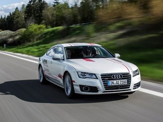 Audi To Test Self Driving Car In Ny