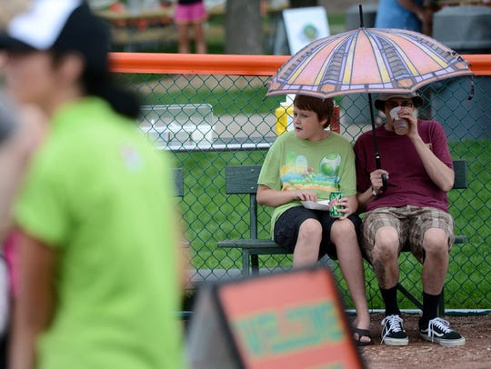 The Green Bay Bullfrogs hosted Cheese Curdfest at Joannes