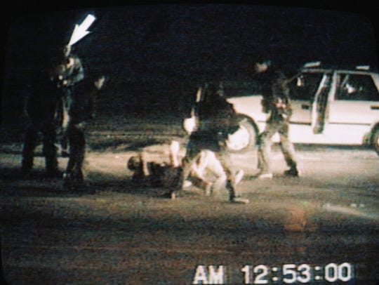 On March 3, 1991, in Los Angeles, Rodney King was beaten by police officers.