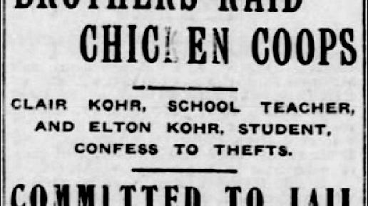 The York Daily (York, PA) Front page headlines on January 16, 1918.