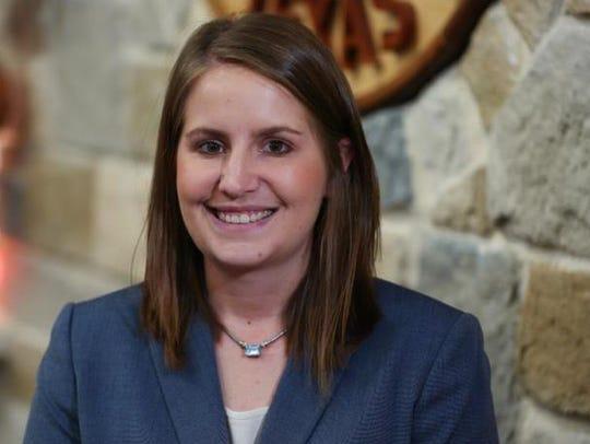 Allison Strube, assistant director of Water Utilities