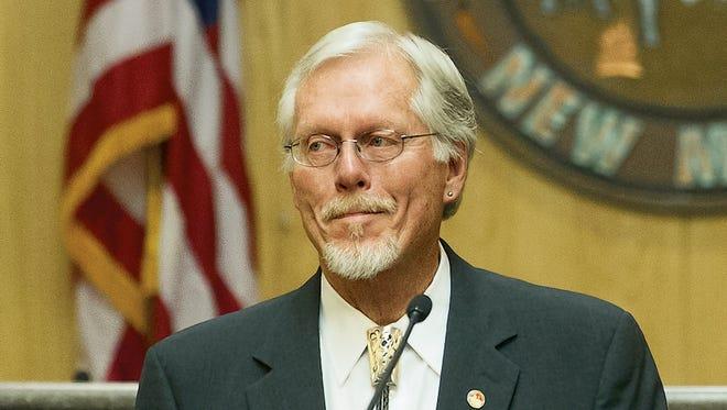 County Commission Chairman Billy Garrett.