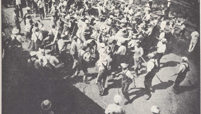 A union riot at John Morrell & Co.
