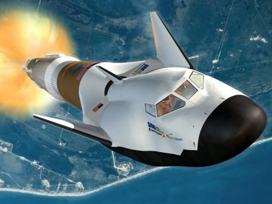 The Dream Chaser space plane designed by Sierra Nevada Corp
