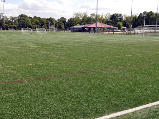 The field replacement work, covered by AstroTurf's