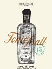 Tonic Ball 15 is scheduled for Nov. 18.