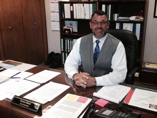 Delaware Community Schools Superintendent Reece Mann
