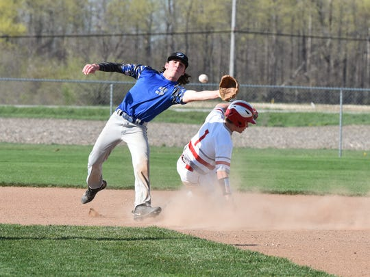 Dylan Filliater wasn't thrown out stealing bases last season.