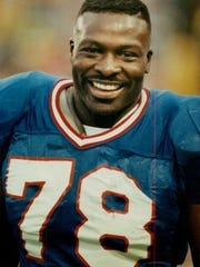 Bruce Smith, a former Bruce Buffalo Bills defensive
