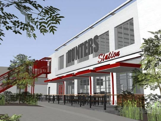 The Hunters Station project will feature a food hall