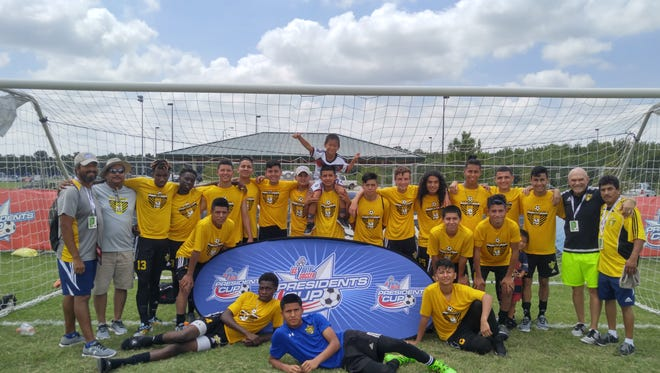 The Immokalee Pit Cobras finished second in the country at the 2016 President's National Cup Tournament in Tulsa, Oklahoma.