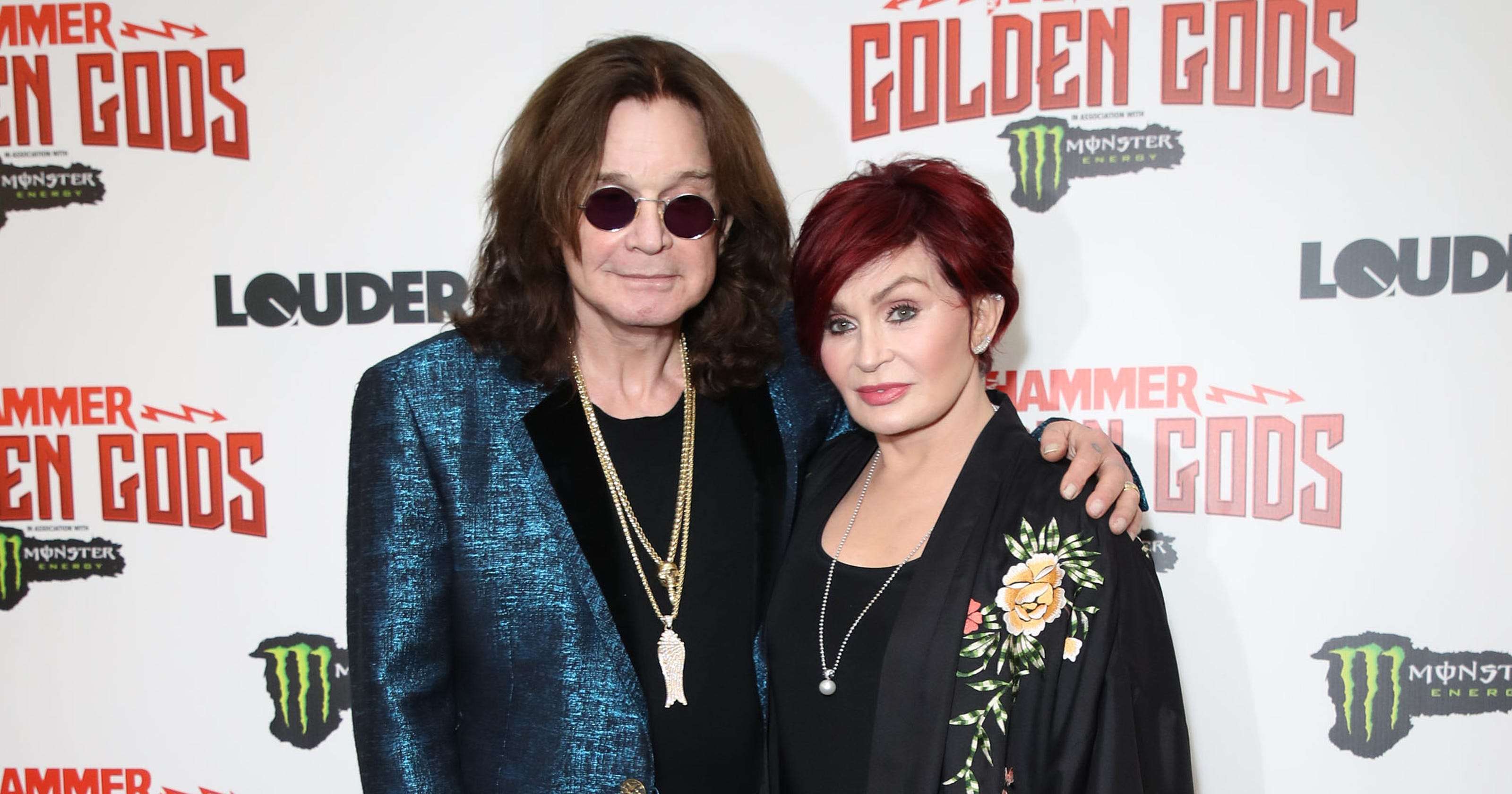 Sharon Osbourne tears up talking about Ozzy's health
