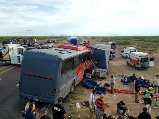 Mexico bus accident 2