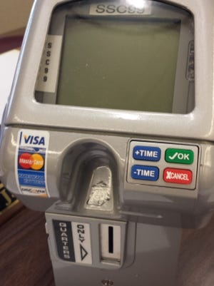New solar powered parking meters will accept credit cards in Morristown.