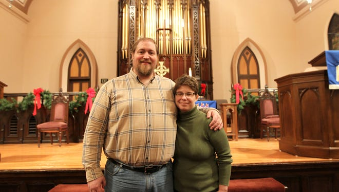 James Robinson and Megan Carnes, members of the Congregational United Church of Christ of Iowa City, are traveling to Standing Rock in North Dakota, bringing supplies to help the groups there who are working to stop the Dakota Access Pipeline.