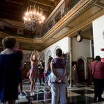 Tour offers a peek inside Detroit's Masonic Temple