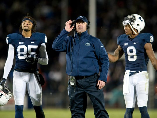 Saturday could be the final time Bill O'Brien gets to coach Brandon Felder (left) and Allen Robinson.