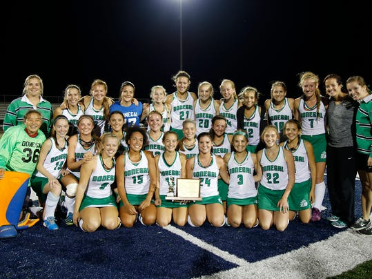 Donegal wins the L-L championship at Conestoga Valley High School in Lancaster on Thursday, Oct. 22, 2015. Kirk Neidermyer for GameTimePA.com