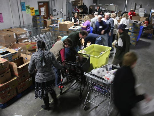 Food banks can't keep up