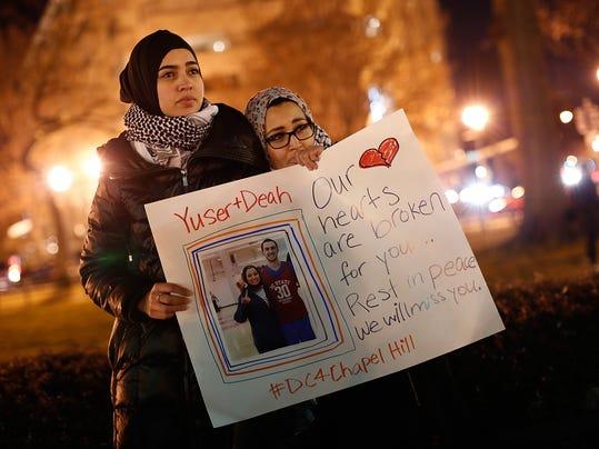 Vigil Held In DC For Three Muslims Killed In North Carolina