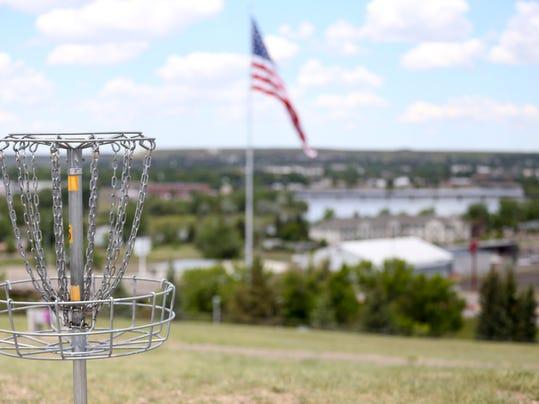 3 disc golf