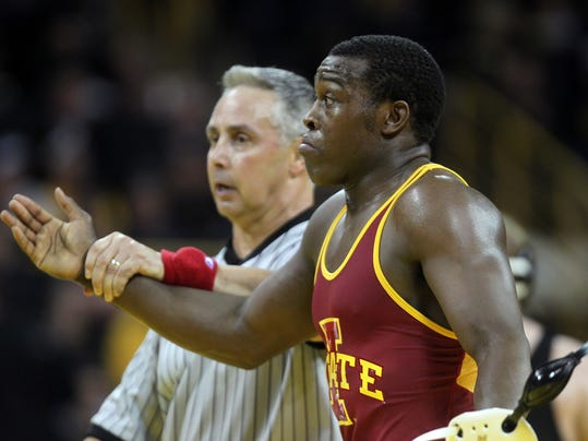 Kyven Gadson suffers first loss on tough ISU Scuffle day