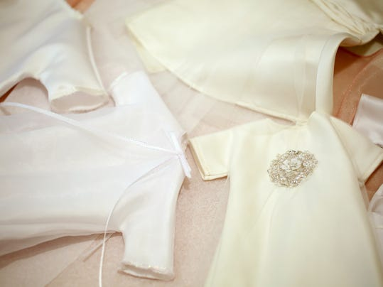 Wedding Gowns Turned Into Angel For Babies