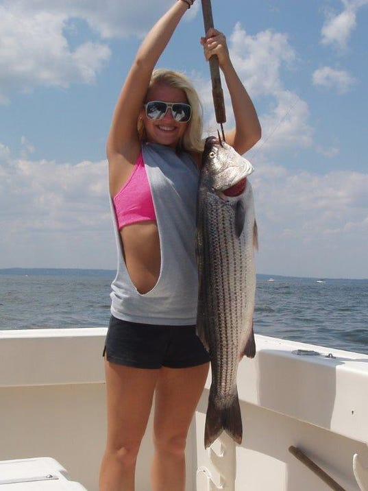 Two fish striper option approved by nj fisheries council for Striper fish pictures