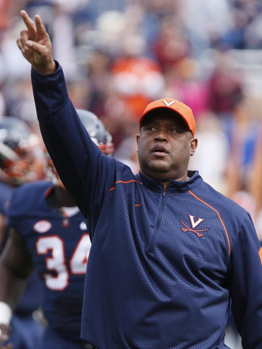 UVA Coach Mike London Resigns