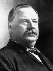 U.S. President Grover Cleveland shown August 9, 1892,