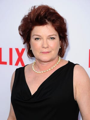 Kate Mulgrew, shown June 5, was nominated for an Emmy.