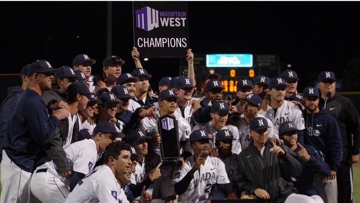 Champions again: Nevada baseball secures second Mountain West title