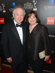 Professor Jeffrey Garten and TV personality Ina Garten attend The 40th Annual Daytime Emmy Awards at The Beverly Hilton Hotel in 2013.