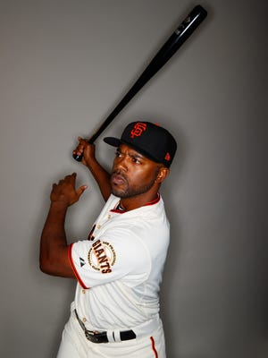 """""""I'm not ready for this jersey to come off my back yet,"""" says Jimmy Rollins, 38, bidding for a Giants roster spot."""