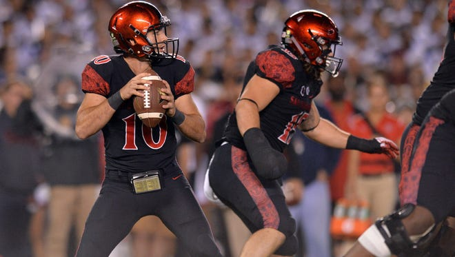 Quarterback Christian Chapman and San Diego State improved to 5-0 and solidified their status as the top team in the Mountain West on Saturday in a win over Northern Illinois in San Diego.