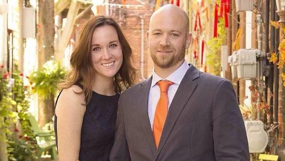 Aberrant Ales owners Clark and Lisa Gill graduated from Brighton High School in 1998.