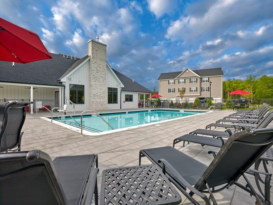 The clubhouse and pool are especially popular at Southgate
