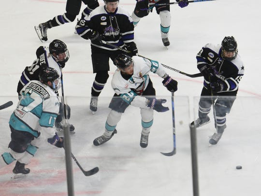 With 10 games left in the regular season, the Shreveport Mudbugs and Lone Star Brahmas are separated by a single point in the South Division.