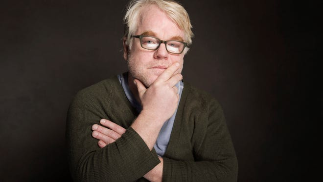 Philip Seymour Hoffman poses for a portrait on Jan. 19, 2014 in Utah.