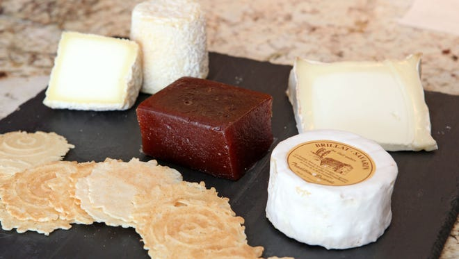 Plum Plums in Pound Ridge prepares cheese plates for holiday parties or hostess gifts.