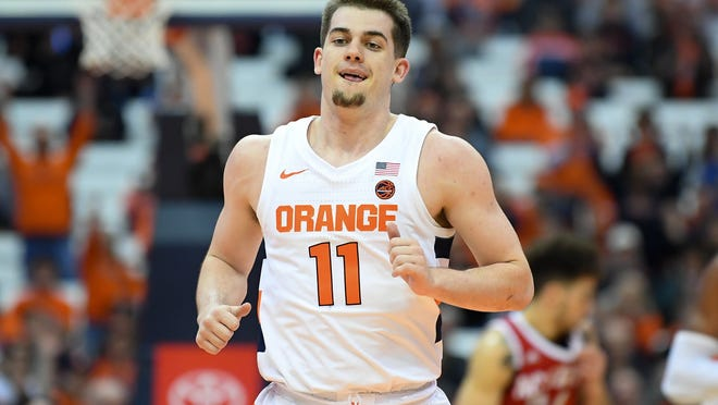 It wasn't until the third game of the season, against Seattle, that Syracuse guard Joe Girard III started to feel comfortable in his adjustment to Division I basketball. By the end of the season, the freshman had emerged as a solid leader for the Orange and is eager for an even bigger sophomore season.
