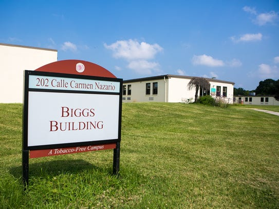 Supervisors say the Biggs Building on the campus of