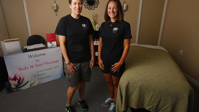 Mary Matthews and Kristal Matthews opened Body and Soul Massage in Toms River in June.