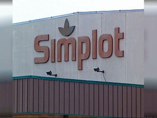 Simplot sign