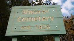 Shearer Cemetery in Plymouth Township.